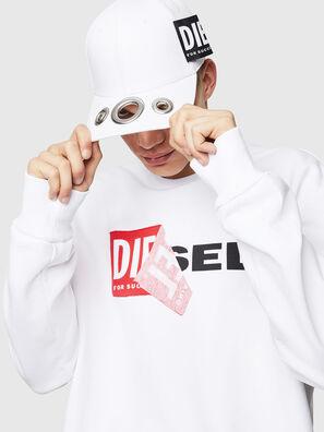 S-SAMY, Weiß - Sweatshirts