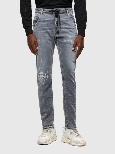 Diesel - Krooley JoggJeans® 069SN, Hellgrau - Jeans - Image 1