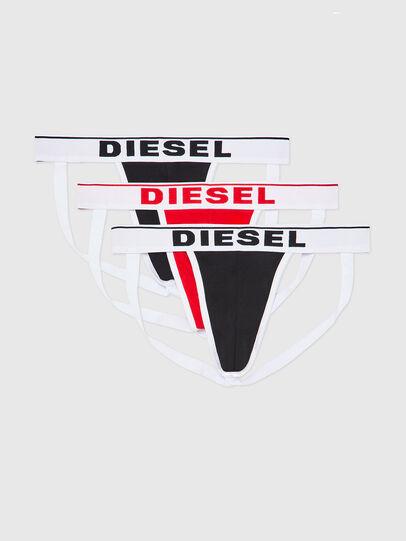 Diesel - UMBR-JOCKYTHREEPACK, Schwarz/Weiß - Jockstraps - Image 1