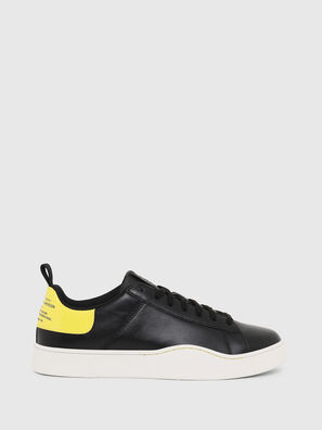 S-CLEVER LOW LACE, Schwarz/Gelb - Sneakers