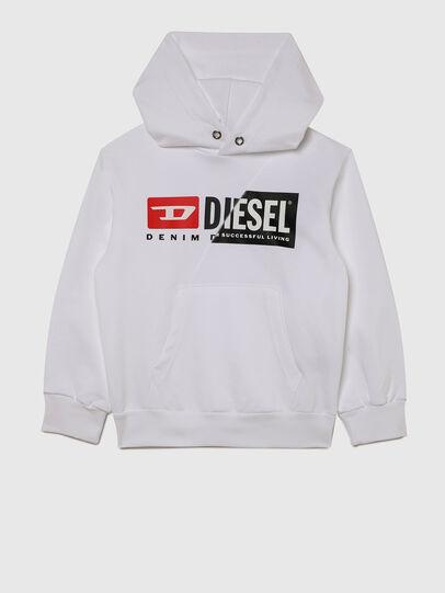 Diesel - SGIRKHOODCUTYX OVER, Weiß - Sweatshirts - Image 1