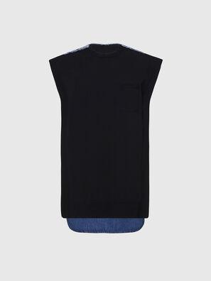 M-BYRNE, Schwarz/Blau - Kleider