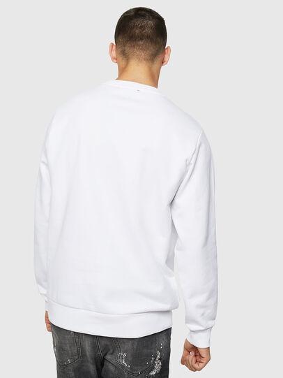 Diesel - S-GIR-B5, Weiß - Sweatshirts - Image 2
