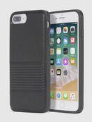 BLACK LINED LEATHER IPHONE 8/7/6s/6 CASE, Schwarz - Schutzhüllen