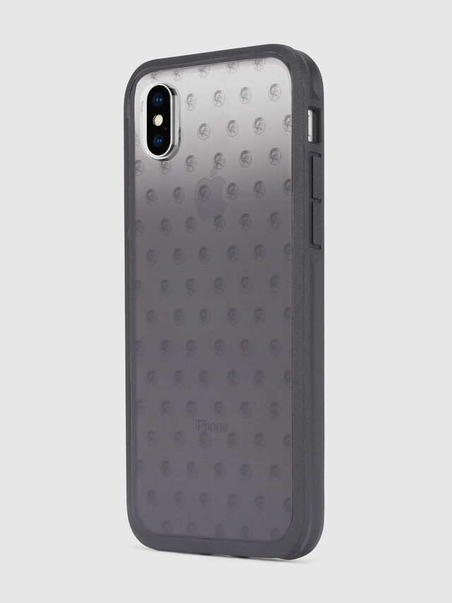 Diesel MOHICAN HEAD DOTS BLACK IPHONE X CASE, Schwarz/Grau - Schutzhüllen - Image 6