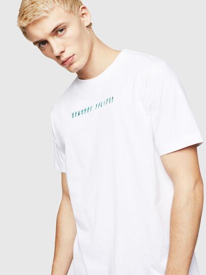 Diesel - T-JUST-A4, Weiß - T-Shirts - Image 4