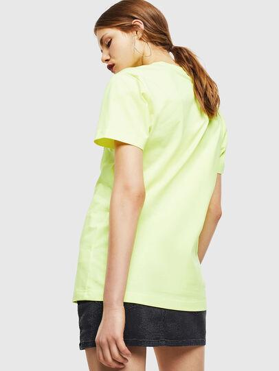 Diesel - T-DIEGO-J4, Neongelb - T-Shirts - Image 4
