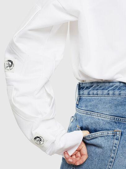 Diesel - S-ALBY-POCKETS, Weiß - Sweatshirts - Image 4