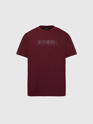 T-JUST-SLITS-X87, Rot - T-Shirts