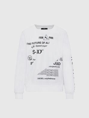 S-GIRK-FOLDED, Weiß - Sweatshirts