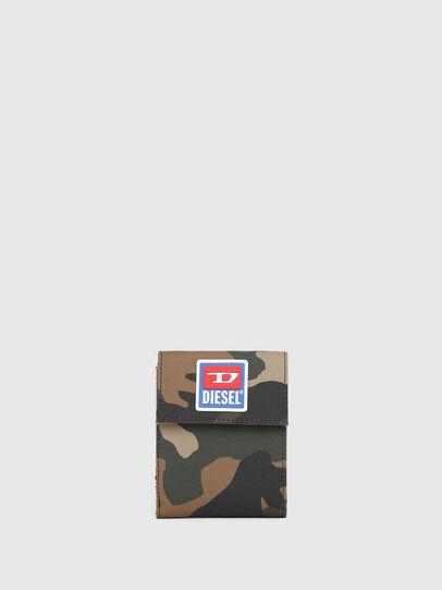 Diesel - HIRESH FD, Camouflagegrün - Kleine Portemonnaies - Image 1