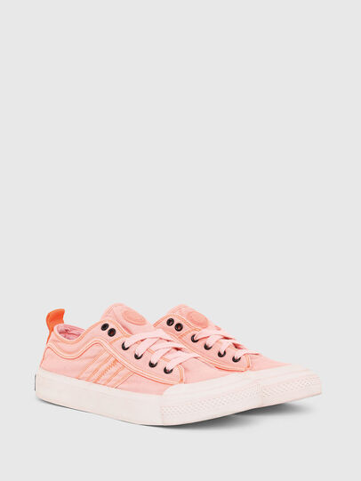 Diesel - S-ASTICO LOW LACE W, Rosa - Sneakers - Image 2