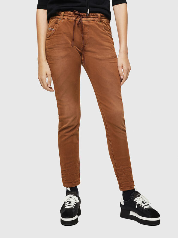 Krailey JoggJeans 0670M, Braun - Jeans