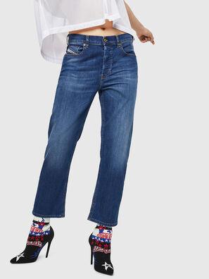 Aryel 082AZ, Dunkelblau - Jeans