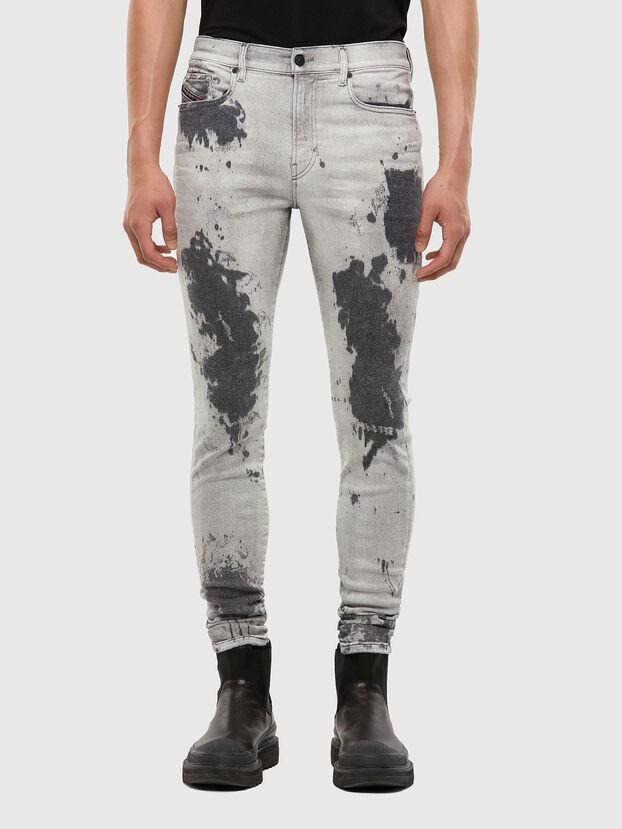 D-Amny 009GM, Hellgrau - Jeans