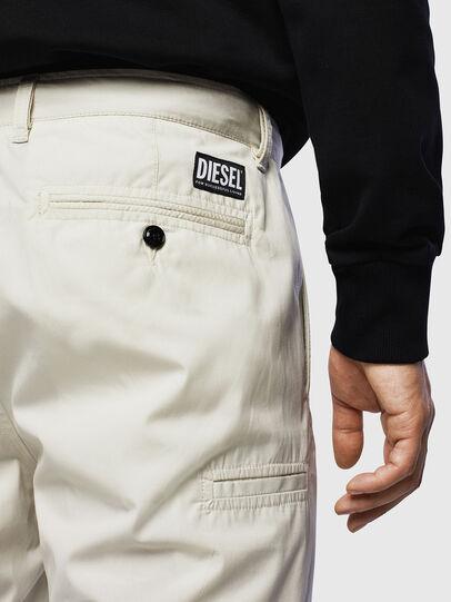Diesel - P-MATTHEW, Weiß - Kurze Hosen - Image 3