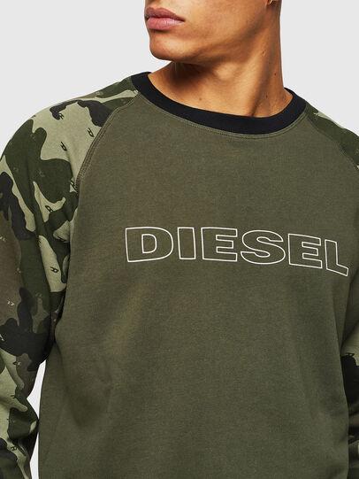Diesel - UMLT-MAX, Camouflagegrün - Sweatshirts - Image 3