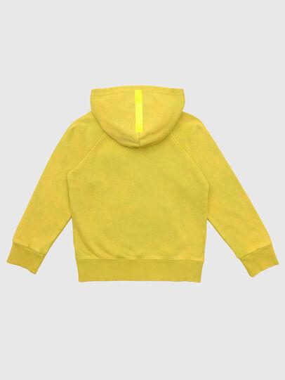 Diesel - SGIMHOODZIP, Gelb - Sweatshirts - Image 2