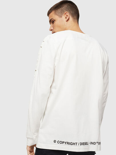 Diesel - T-JUST-LS-BX3, Weiß - T-Shirts - Image 2