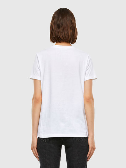 Diesel - T-SILY-V23, Weiß - T-Shirts - Image 2