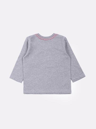 Diesel - TOQUEB, Grau - T-Shirts und Tops - Image 2