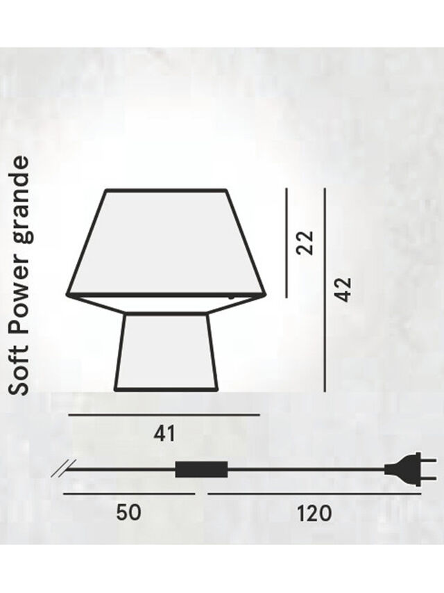 SOFT POWER GRANDE, Schwarz