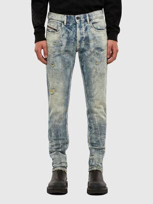 D-Strukt 009FM, Hellblau - Jeans