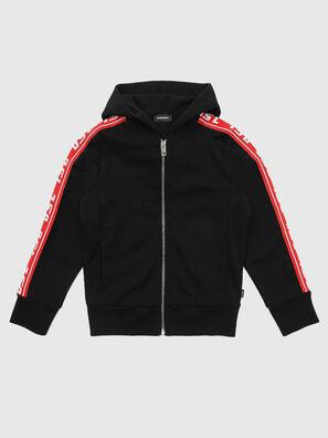 SUITAX, Schwarz/ Rot - Sweatshirts
