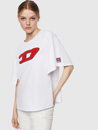 Diesel - T-JACKY-I, Creme - T-Shirts - Image 1