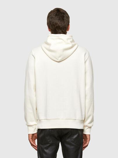 Diesel - S-GIRK-HOOD-N3, Weiß - Sweatshirts - Image 2