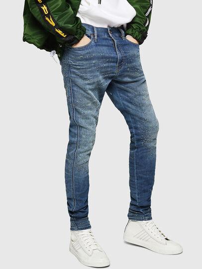 Diesel - D-Reeft JoggJeans 069HG, Mittelblau - Jeans - Image 1