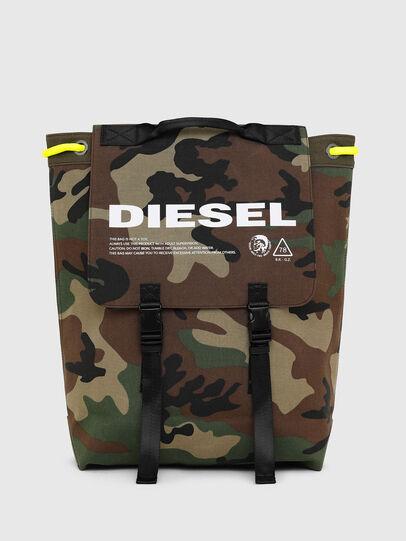 Diesel - VOLPAGO BACK, Camouflagegrün - Rucksäcke - Image 1