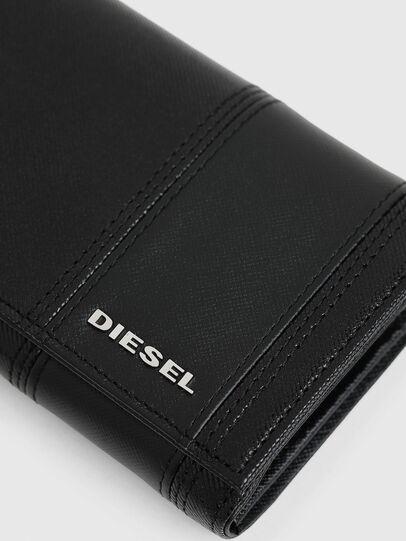 Diesel - 24 A DAY, Schwarz - Continental Portemonnaies - Image 5