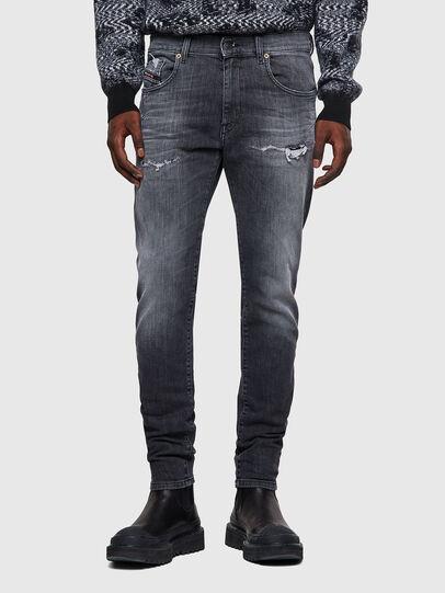 Diesel - D-Strukt JoggJeans® 009QT, Schwarz/Dunkelgrau - Jeans - Image 1