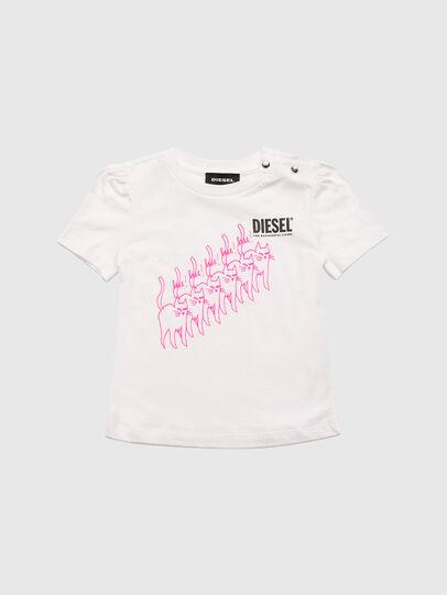 Diesel - TLOPPIB, Weiß - T-Shirts und Tops - Image 1