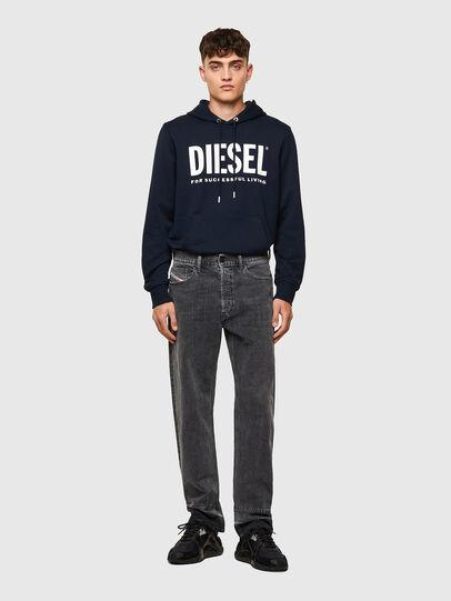 Diesel - D-Macs 09A23, Schwarz/Dunkelgrau - Jeans - Image 6