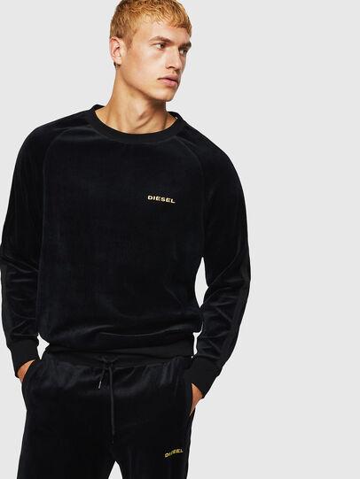 Diesel - UMLT-MAX, Schwarz - Sweatshirts - Image 1