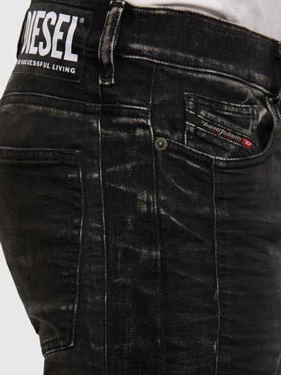 Diesel - D-REEFT JoggJeans® 009FY, Schwarz/Dunkelgrau - Jeans - Image 4