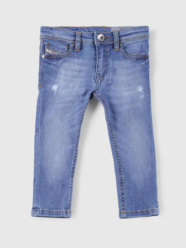 Diesel - SLEENKER-B-N, Jeansblau - Jeans - Image 1