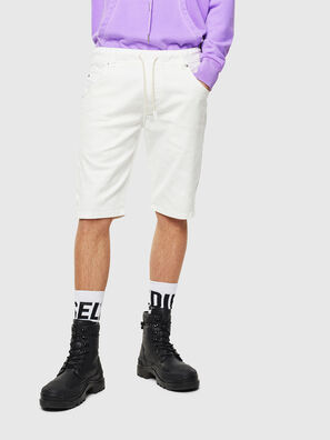 D-KROOSHORT JOGGJEANS, Weiß - Kurze Hosen