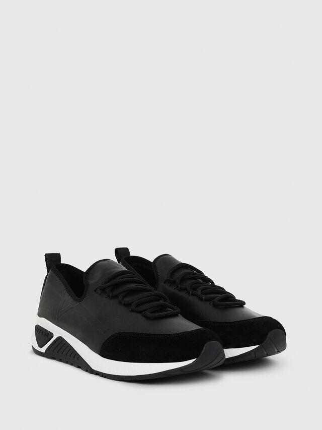 Diesel - S-KBY, Lederschwarz - Sneakers - Image 2