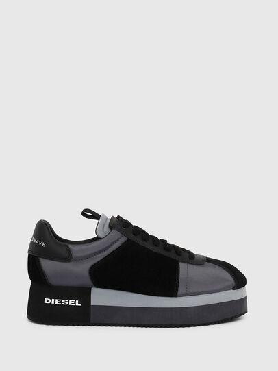 Diesel - S-PYAVE WEDGE, Blau/Schwarz - Sneakers - Image 1