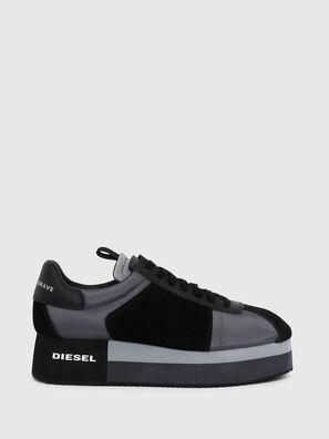 S-PYAVE WEDGE, Blau/Schwarz - Sneakers