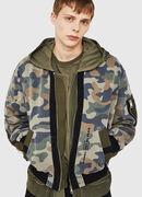 D-AZLEY JOGGJEANS, Camouflagegrün - Denim jacken