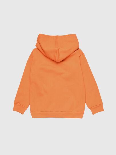 Diesel - SDIVISION OVER, Orange - Sweatshirts - Image 2
