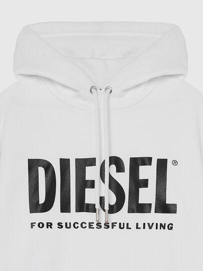 Diesel - S-GIR-HOOD-DIVISION-, Weiß - Sweatshirts - Image 3