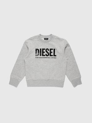 SCREWDIVISION-LOGO O, Grau - Sweatshirts