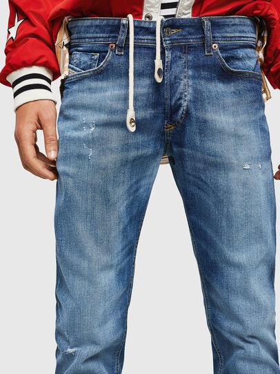 Diesel - Sleenker 069FY, Mittelblau - Jeans - Image 3