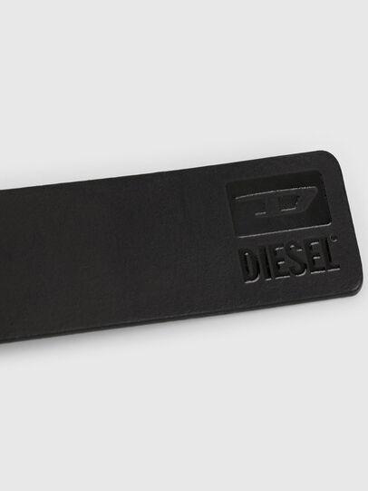 Diesel - B-DIVISION, Brillantschwarz - Gürtel - Image 4
