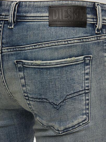 Diesel - Sleenker 009KL, Mittelblau - Jeans - Image 4
